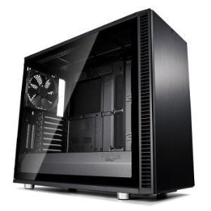 分形工艺(Fractal Design)Define S2 全黑化 钢化玻璃侧板 支持ATX/E-ATX主板/标配风扇/水冷专用机箱