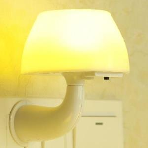 小夜灯插电led感应遥控节能台灯卧室睡眠婴儿喂奶护眼床头灯夜光  券后8.9元