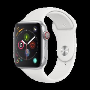 Apple Watch Series 4苹果智能手表(GPS+蜂窝款 44毫米银色铝金属表壳 白色运动型表带 MTVR2CH/A) 3699元