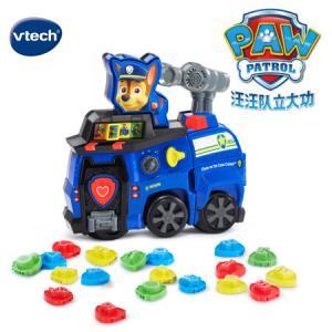 伟易达(VTech)汪汪队立大功电动早教益智模型玩具 巡逻车阿奇(中文版) 179元