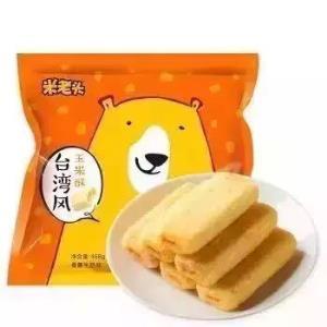 米老头 台湾风玉米酥 468g 香蕉牛奶味 *11件 86.8元(合7.89元/件)