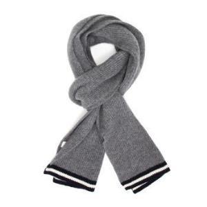 BALLY 巴利 男士灰色黑白条纹羊毛围巾 M7LR387K 8S374 236399.2元