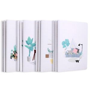 M&G 晨光 APYFPF67 小屋系列 A5/48页缝线本 12本装 *5件 62.5元(合12.5元/件)