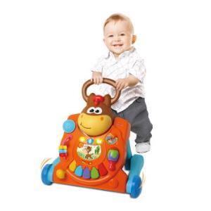 婴蒂诺 infantino 婴儿学步车儿童手推车 多功能宝宝助步车防侧翻 小马推车 003993 *3件 457.5元(合152.5元/件)
