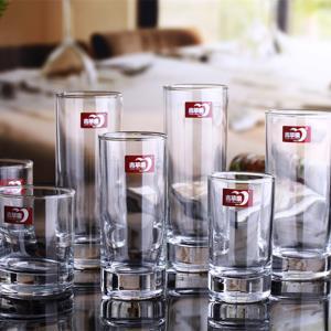 德力青苹果欧诺290毫升直身耐热透明玻璃杯果汁奶茶烈酒6只包邮 25.5元