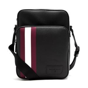 BALLY 巴利 Scerter系列 男士品牌经典红白条纹装饰单肩斜挎包1699元