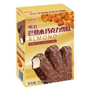 京东PLUS会员:meiji明治巴旦木巧克力雪糕42g*6彩盒*5件 107.3元(多重优惠)