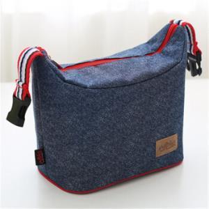方形手提帆布饭盒 保温便当包 11.9元(需用券)