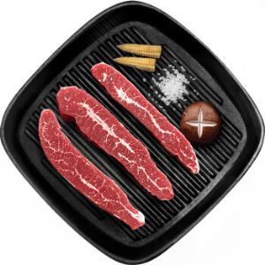 雪菲 澳洲雪花牛排200g/袋 谷饲安格斯牛 进口原切牛肉 健身食材 生鲜 *3件+凑单品 108.8元(合36.27元/件)