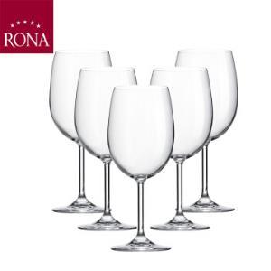 洛娜(RONA)斯洛伐克进口红酒杯高脚杯葡萄酒杯350mL*6支装 129元