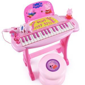 Peppa Pig 小猪佩奇 JXT99024 宝宝玩具小钢琴 *2件 186元(合93元/件)