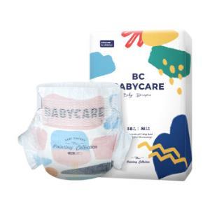 babycare艺术大师系列弱酸纸尿裤M码58片(6-11kg) *2件    204元(合102元/件)
