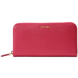 PRADA 普拉达 女士红色牛皮长款钱包 1ML506 2BNC F0VPW 2899.5元