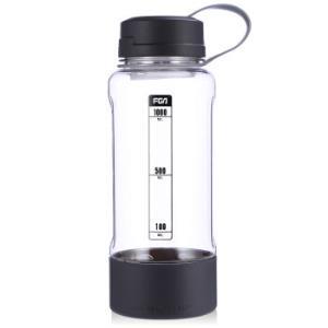 富光 途骏系列塑料杯 大容量 灰色 1L *8件 100元(合12.5元/件)