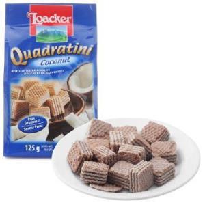 loacker 莱家 威化饼干椰子味夹心粒粒装 125g *24件67.4元(合2.81元/件)