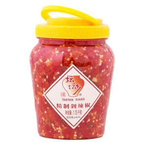 坛坛乡精制剁辣椒1.15kg*2件    32.22元(合16.11元/件)