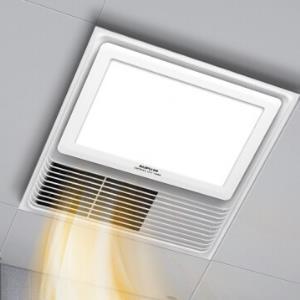 奥普浴霸集成吊顶风暖浴霸多功能嵌入式换气吹风三合一5018A白色(LED照明+大板开关) 459元