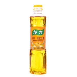 龙大 压榨一级食用油特香花生油500ml 9.9元