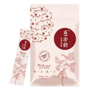 豆香韵创意版纯植物蛋白营养早餐经典豆浆粉冲饮袋装400g(25g*16小袋) 8.42元