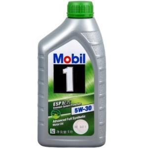Mobil美孚美孚1号SN5W-30ESP全合成机油1L*9件 257.20元(合28.58元/件)