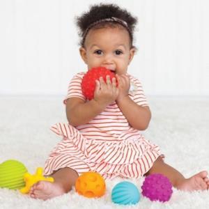 infantino婴智宝多功能纹理感知球6个装 59元(需用券)