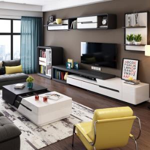 华纳斯(HUANASI)电视柜 电视柜+1.3米茶几 *5件14249.6元(合2849.92元/件)