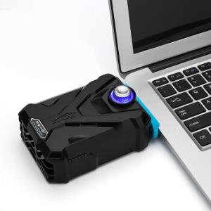 酷睿冰尊(ICECOOREL)F1笔记本抽风式散热器(抽风式散热扇/笔记本配件/侧吸/吸风式散热)*5件 70元(合14元/件)