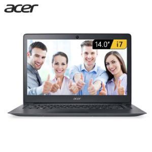 Acer宏�墨舞X34914英寸轻薄笔记本i7-7500U8G256GPCIe 4399元