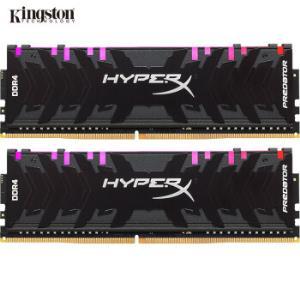 金士顿(Kingston)DDR4320032GB(16G×2)套装台式机内存骇客神条Predator系列掠食者RGB灯条 1499元
