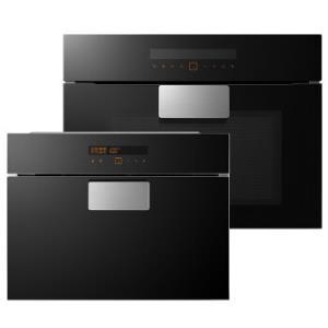 方太(FOTILE)嵌入式蒸箱烤箱智能精准控温E2S家用专业蒸烤套装 26L蒸箱+43L烤箱8297元
