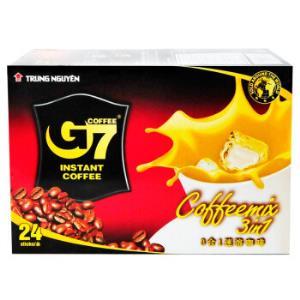 越南进口中原G7三合一速溶咖啡384g*5件 85元(合17元/件)