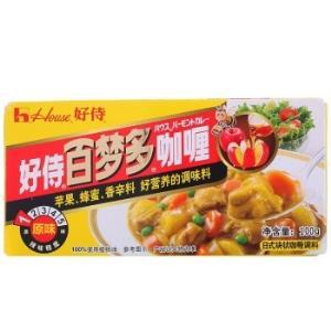 House好侍百梦多咖喱*2件11.86元(合5.93元/件)