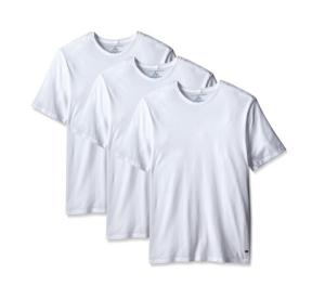 TOMMYHILFIGER汤米・希尔费格09TCR01男士经典圆领棉T恤3件装*3件 133.44元(合44.48元/件)