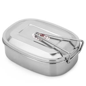 MAXCOOK美厨MCFT-02不锈钢学生饭盒大号*2件29元(合14.5元/件)