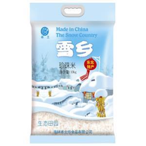 森王晶珍雪乡珍珠米10kg 49.9元
