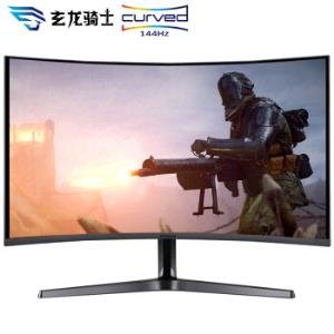 三星(SAMSUNG)31.5英寸2K/QHD高清144Hz曲面TUV爱眼认证游戏吃鸡电竞显示器(C32JG52QQC)2199元