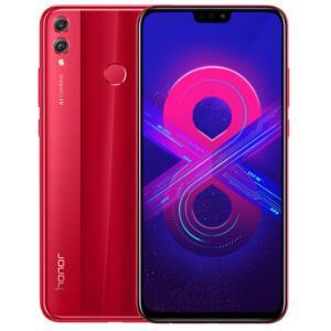 HUAWEI华为荣耀8X智能手机魅焰红6GB128GB1589元