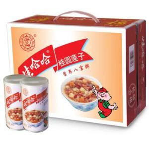 限地区:娃哈哈桂圆莲子八宝粥360g*12罐/箱*3件64.5元(三件五折)