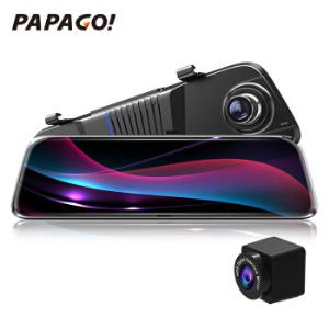 移动端:PAPAGO!趴趴狗Q15S流媒体后视镜行车记录仪*2件1398元包邮(合699元/件)
