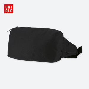 UNIQLO 优衣库 UQ413073000 单肩背包 黑色 99元
