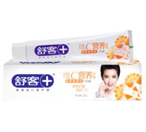 Saky舒客维C营养牙膏120g*5件    29元(合5.8元/件)