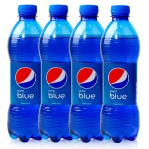 印尼巴厘岛进口蓝色百事可乐450ml*5瓶梅子味海水蓝正品汽水饮料19.9元
