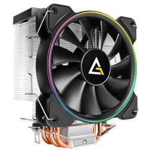 安钛克(Antec)风影CPU风冷散热器送导热硅脂硅胶纯铜4热管12cm幻彩风扇电脑主机箱显卡风冷 159元