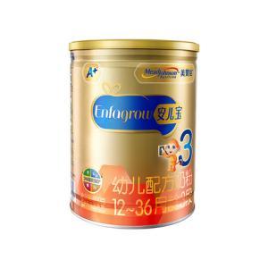 MeadJohnson 美赞臣安儿宝A+幼儿配方奶粉 3段(12-36月龄幼儿适用) 900克/罐 165元