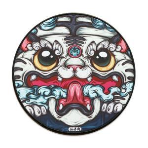 JANEWYATT简・悦中国风锁边鼠标垫300*3mm圆形