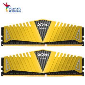 威刚(ADATA)DDR4300016GB(8GBx2)套装台式机内存XPG-Z1游戏威龙(金色) 509元