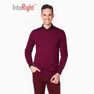 InteRight男士圆领羊毛衫*6件 154元(合25.67元/件)