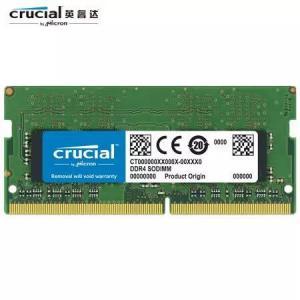 crucial 英睿达 8GB DDR4 2666 笔记本内存条279元