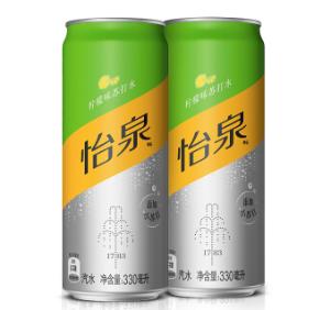 怡泉Schweppes无糖零卡柠檬味苏打水汽水饮料330ml*24罐整箱装可口可乐公司出品*4件 194元(需用券,合48.5元/件)