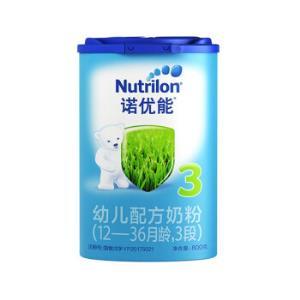 诺优能(Nutrilon) 幼儿配方奶粉(12―36月龄,3段)800g140元
